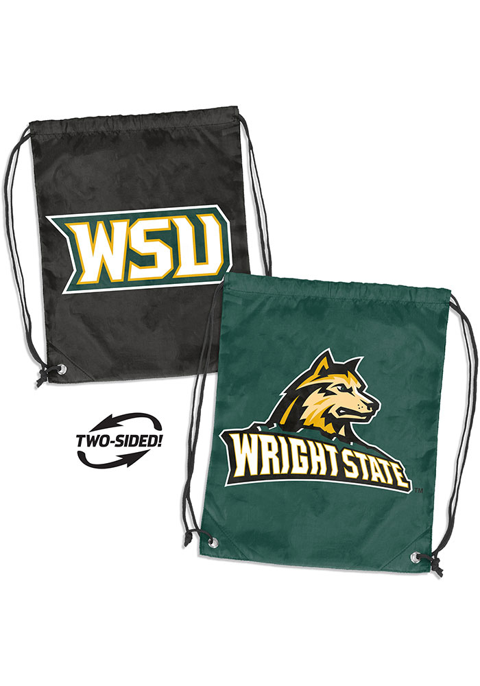 Wright State Raiders Doubleheader String Bag - Green