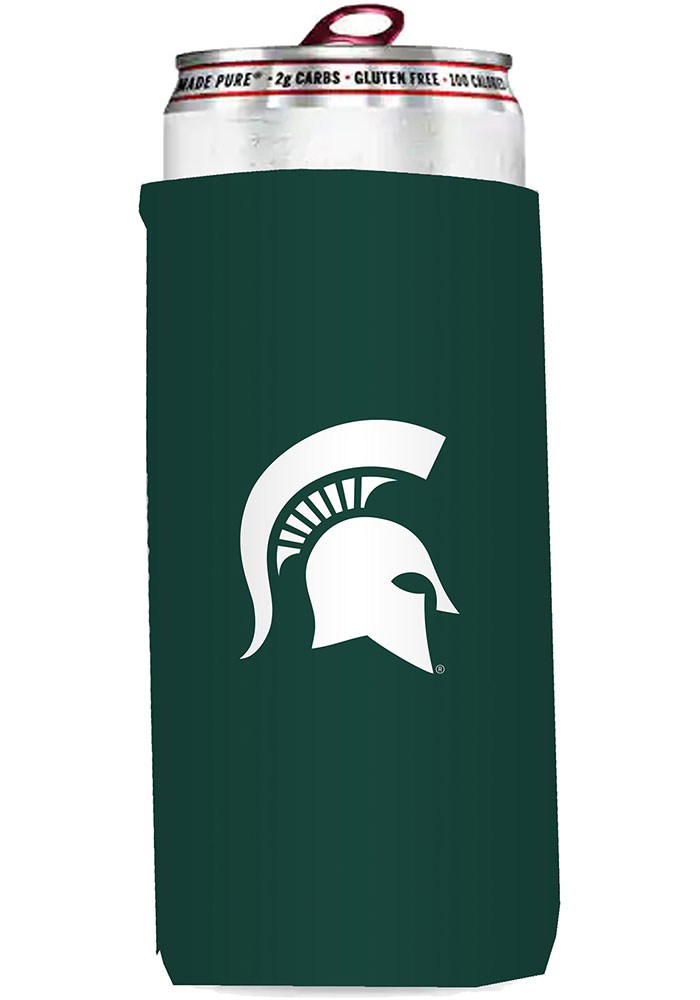 Michigan State Spartans 12oz Slim Can Coolie - Image 1