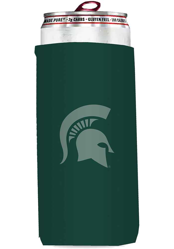 Michigan State Spartans 12oz Slim Can Coolie