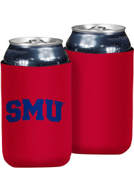 SMU Mustangs 12oz Can Coolie