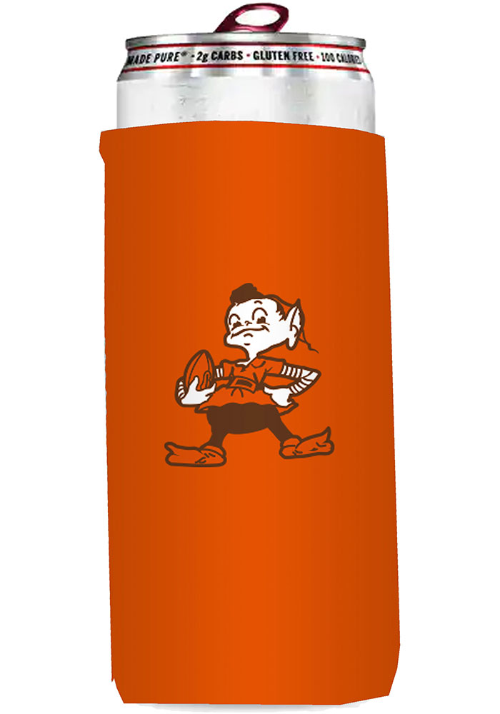 Cleveland Browns 12oz Slim Can Coolie