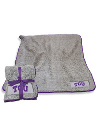 TCU Horned Frogs Frosty Fleece Blanket