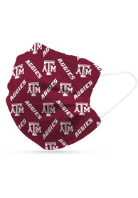 Texas A&M Aggies 6 Pack Disposable Fan Mask - Red