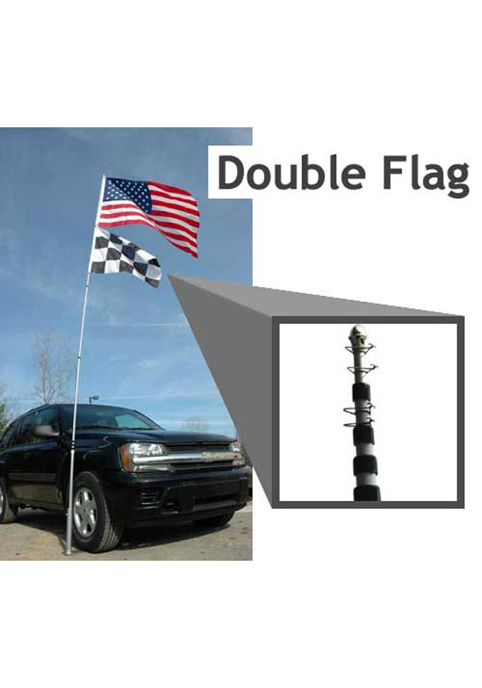 20 Foot Aluminum Flag Pole - Image 1