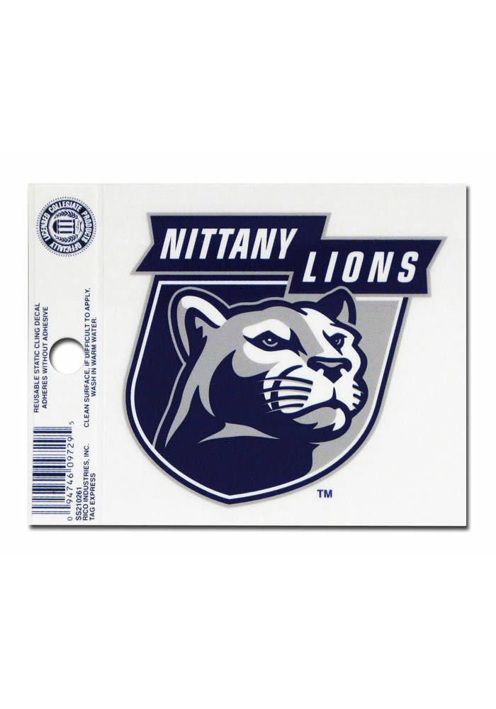 Penn State Nittany Lions Small Auto Static Cling - Image 1