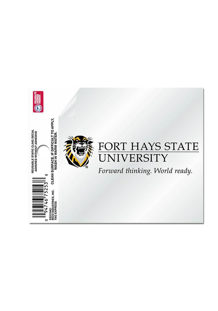 Fort Hays State Tigers Small Auto Static Cling - Image 1