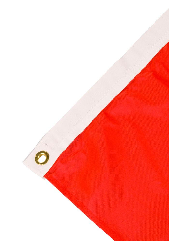 Texas Rangers 3x5 Red Grommet Red Silk Screen Grommet Flag - Image 4