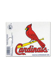St Louis Cardinals Small Auto Static Cling