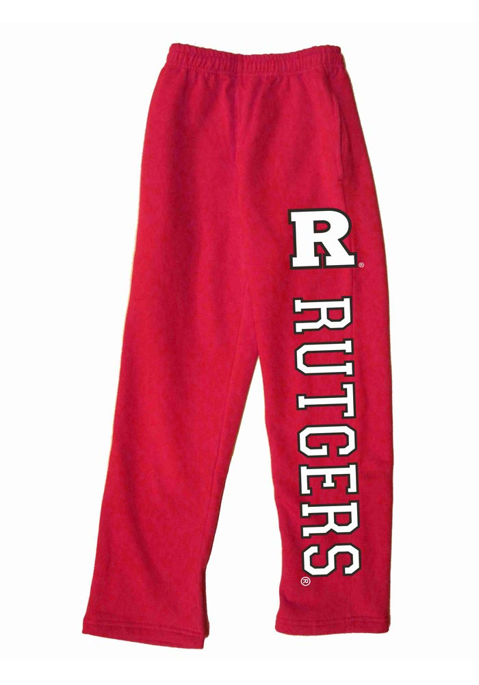 Rutgers Scarlet Knights Baby Red Logo Bottoms Sweatpants - Image 1