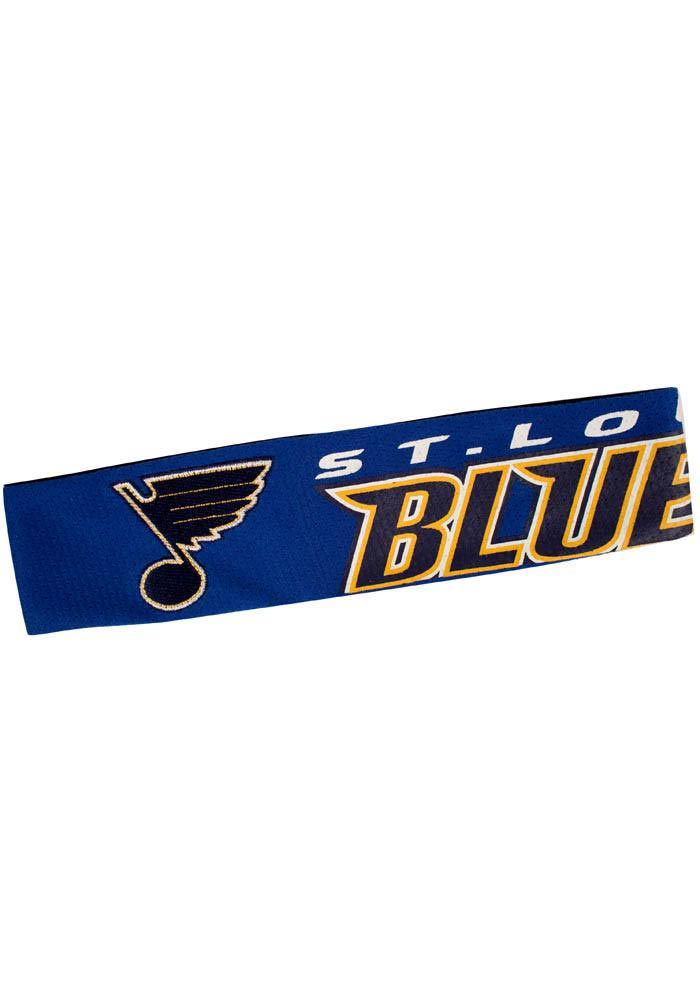 St Louis Blues Jersey Fanband Womens Headband - Image 1