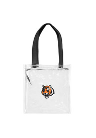 Cincinnati Bengals White Stadium Approved 12 x 12 x 6 Clear Bag