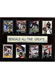 Cincinnati Bengals 12x15 All-Time Greats Player Plaque
