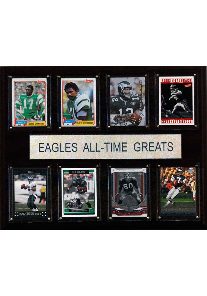 Philadelphia Eagles 12x15 All-Time Greats Player Plaque - Image 1