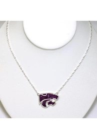 K-State Wildcats Bling Necklace