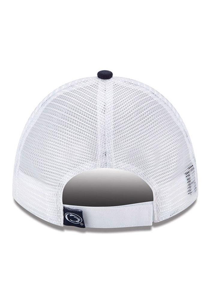 New Era Penn State Nittany Lions Navy Blue Sequin Shimmer Womens Adjustable Hat - Image 5