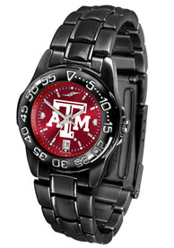 Texas A&M Aggies Womens Fantom Anochrome Watch - Black