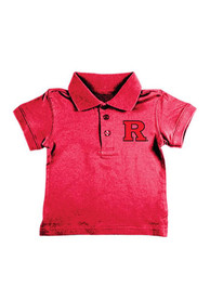Rutgers Scarlet Knights Toddler Red Logo Polo Shirt