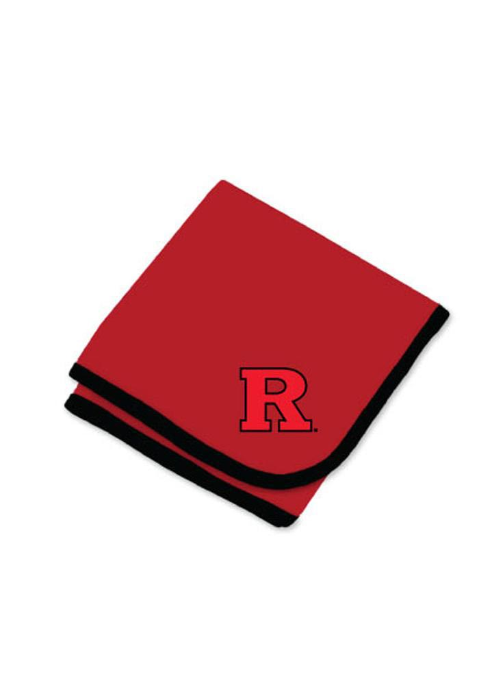 Rutgers Scarlet Knights Knit Baby Blanket - Image 1