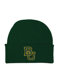 Baylor Bears Cuffed Newborn Knit Hat - Green