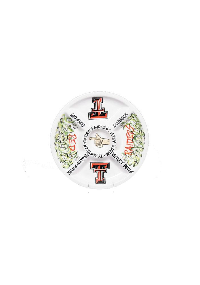 Texas Tech Red Raiders Veggie Serving Tray - Image 1
