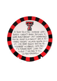 Texas Tech Red Raiders Definition Plate