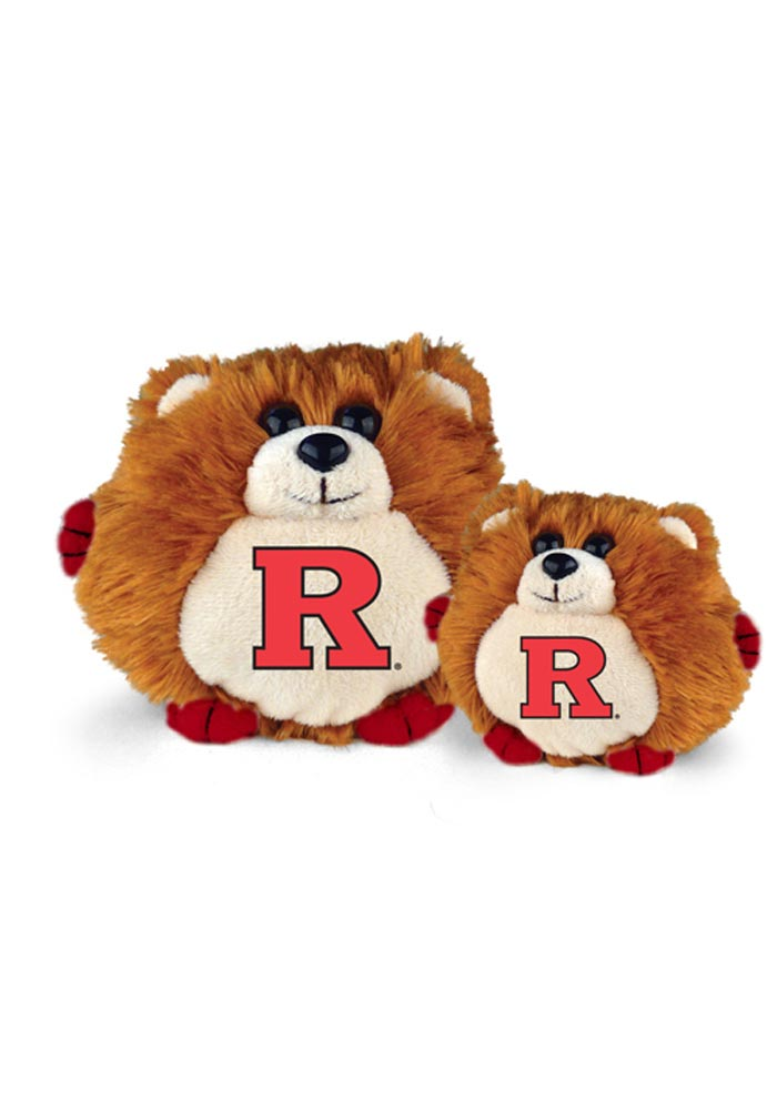 Rutgers Scarlet Knights 6in Round Cub Plush