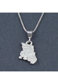 Missouri Western Griffons Womens Silver Charm Necklace - Silver