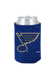 St Louis Blues Glitter Can Coolie