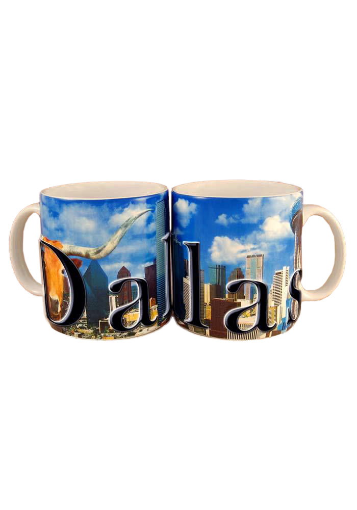 Dallas Ft Worth MUG Mug - Image 1