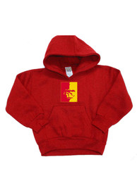 Pitt State Gorillas Toddler Red Mascot Hooded Sweatshirt