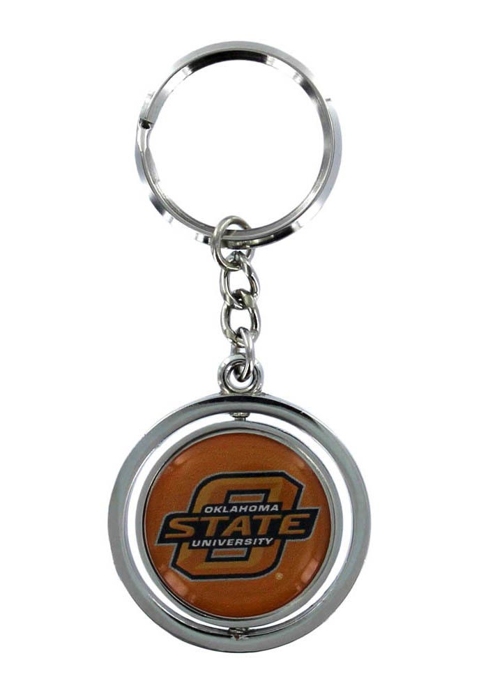 Oklahoma State Cowboys Spinner Keychain - Image 1
