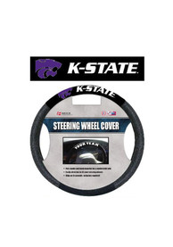 K-State Wildcats Poly-Suede Auto Steering Wheel Cover