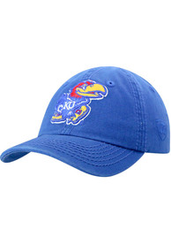 Kansas Jayhawks Baby Top of the World Crew Adjustable Hat - Blue