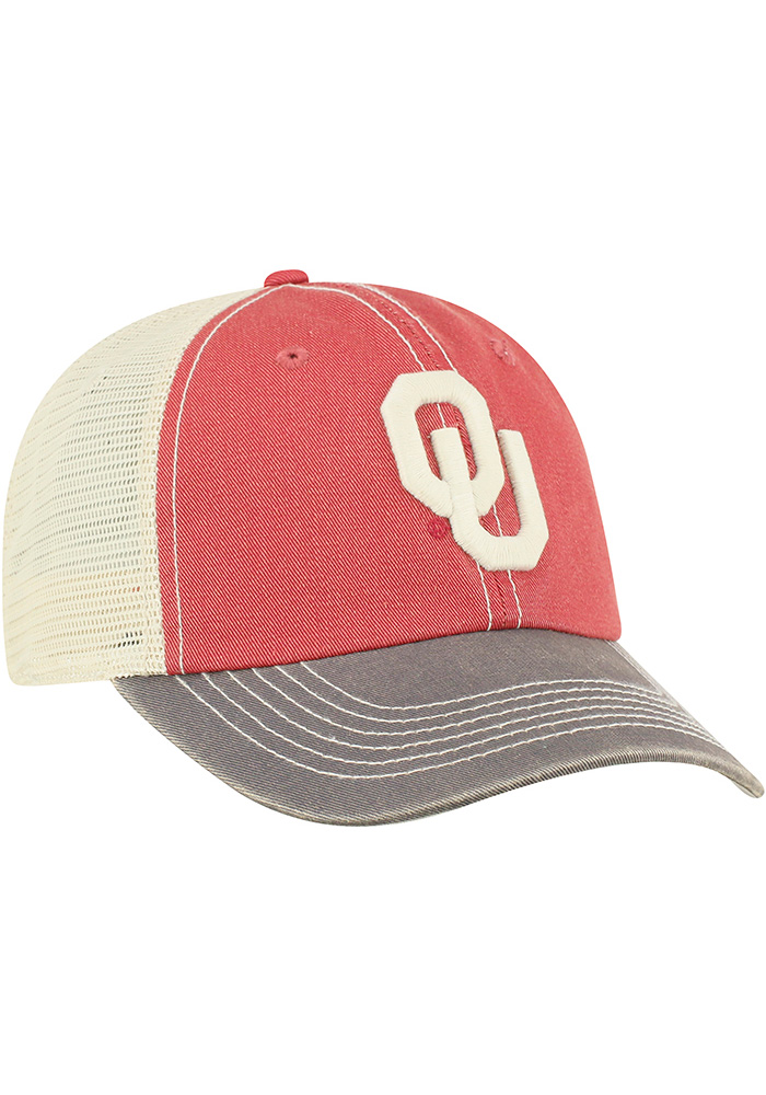 Top of the World Oklahoma Sooners Offroad Adjustable Hat - Crimson - Image 1