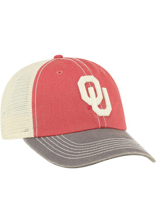 3324c042ddd Top of the World Oklahoma Sooners Crimson Offroad Adjustable Hat