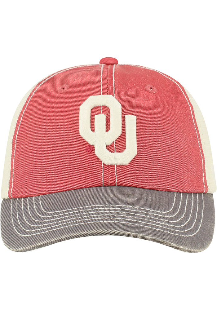Top of the World Oklahoma Sooners Offroad Adjustable Hat - Crimson - Image 2