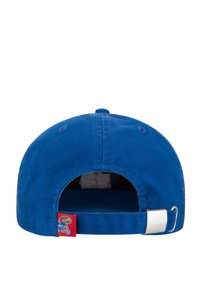 Top of the World Kansas Jayhawks Mens Blue S.O.M. Adjustable Hat - Image 2