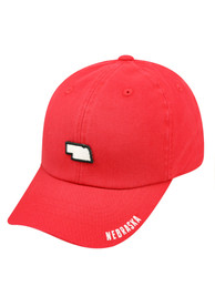Nebraska Cornhuskers Top of the World S.O.M. Adjustable Hat - Red