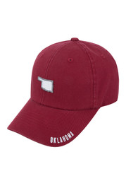 Top of the World OU Sooners Mens crimson S.O.M. Adjustable Hat