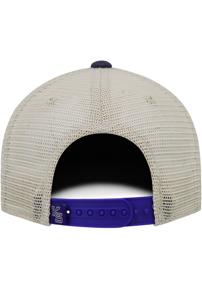 Top of the World K-State Wildcats Mens Purple Offroad Adjustable Hat - Image 2