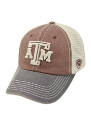 Top of the World Texas A&M Aggies Mens White Offroad Adjustable Hat