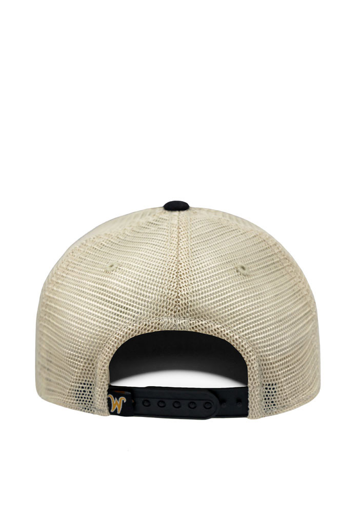Top of the World Wichita State Shockers Mens Black Offroad Adjustable Hat - Image 2