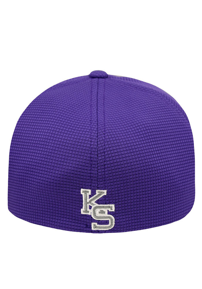 Top of the World K-State Wildcats Mens Purple Booster Plus Flex Hat - Image 2