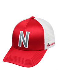 089cc6334be Top of the World Nebraska Cornhuskers Womens Red Satina Adjustable Hat
