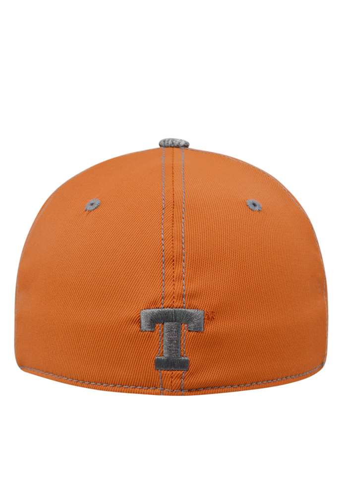 Top of the World Texas Longhorns Mens Orange Krossover Flex Hat - Image 2