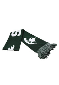 Michigan State Spartans Top of the World Outflow Scarf - Green