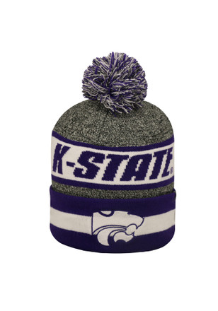 Top of the World K-State Wildcats Grey Cumulus Knit Hat