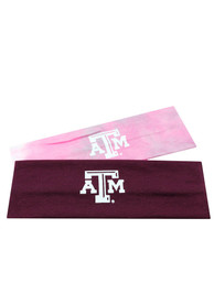 Texas A&M Aggies Womens Top of the World Yoga 2-Pack Headband - Maroon