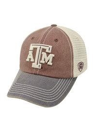 newest collection fbd2e 773d5 Top of the World Texas A M Aggies White Offroad Youth Adjustable Hat