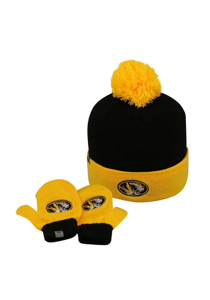 Top of the World Missouri Tigers LilDew Baby Mittens - Image 1